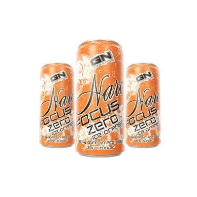 GN Laboratories Narc Focus Zero Energy 250ml Ice Orange