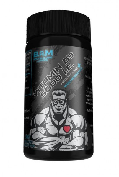 B.A.M Vitamin D3 5000 I.E.