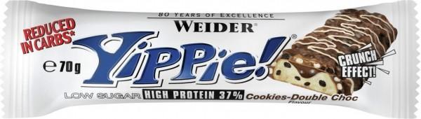 Weider YIPPIE! Bar 70g Cookies-Double Choc