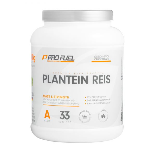 profuel plantein reis 1000g veganes protein proteinpulver unser sortiment house of protein. Black Bedroom Furniture Sets. Home Design Ideas