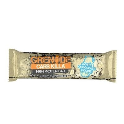 Grenade Carb Killa High Protein Bar 60g White Chocolate Cookie