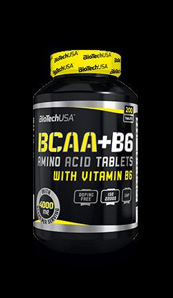 BioTech USA BCAA+B6 200 Tabletten