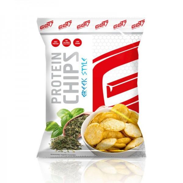 Got7 High Protein Chips 50g Greek Style