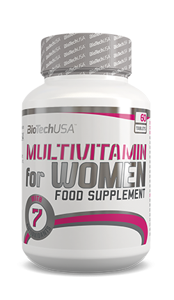 BioTech USA Multivitamin for Women 60 Tabletten