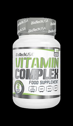 BioTech USA Vitamin Complex 60 Tabletten