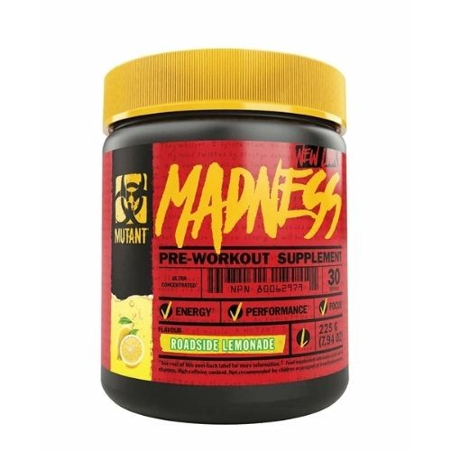 Mutant Madness Pre Workout Booster 225g