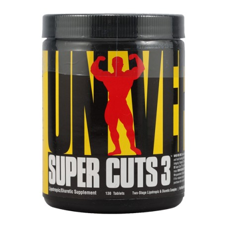 Universal Nutrition SUPER CUTS 3 Fatburner