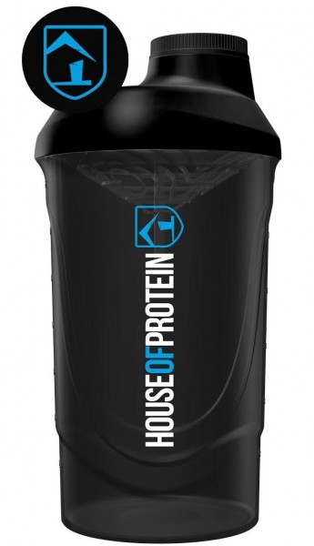 House of Protein Black Edition Wave Shaker 600ml