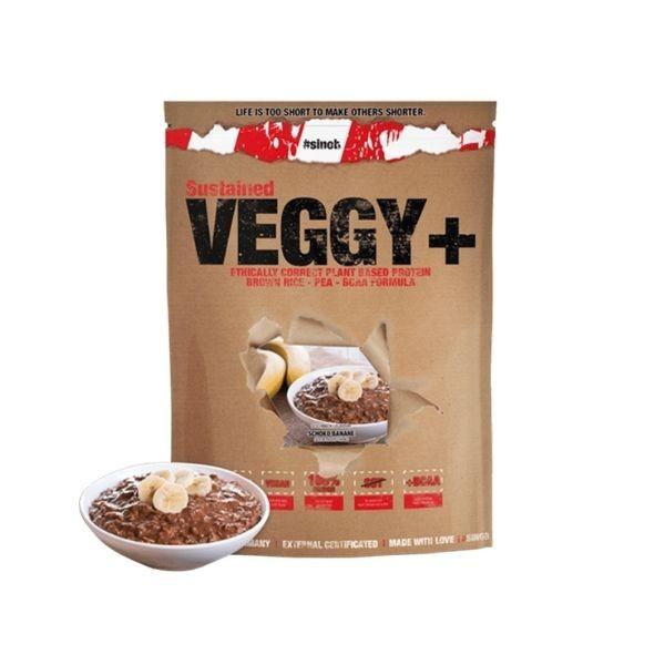 Blackline 2.0 Veggy + Vegan Protein 900g Banane Schoko