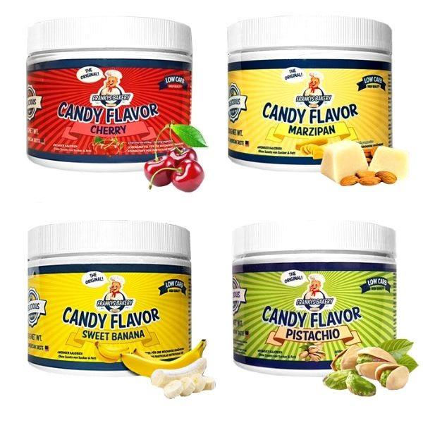Frankys Bakery Candy Flavour Powder 200g
