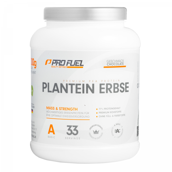 profuel plantein erbse 1000g veganes protein proteinpulver unser sortiment house of protein. Black Bedroom Furniture Sets. Home Design Ideas