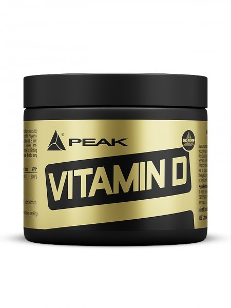 Peak Vitamin D 180 Tabletten