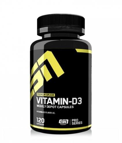 ESN Vitamin D3 120 Kapseln