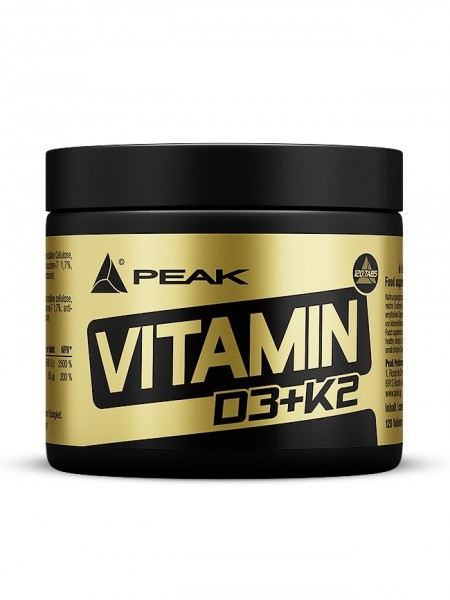 PEAK Vitamin D3+K2 120 Tabletten