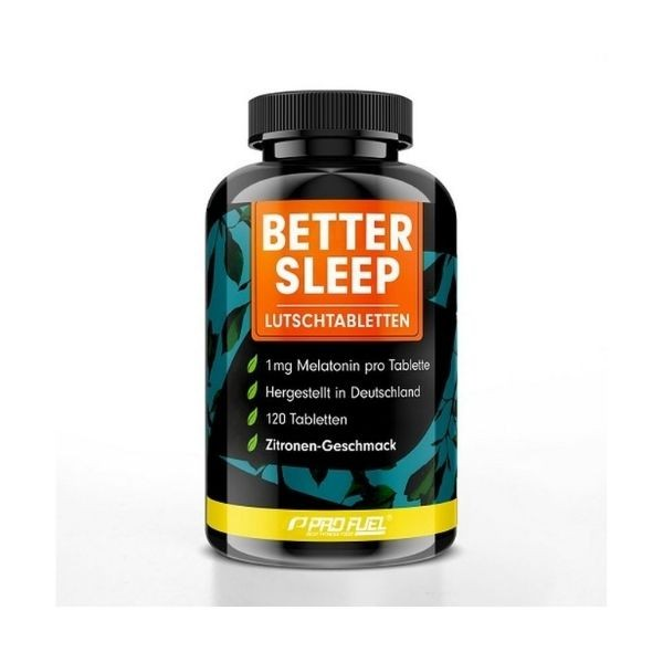 ProFuel Better Sleep Melatonin - 120 Lutschtabletten