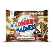 Madness Nutrition Cookie Madness 106g Choc Chip Hazelnut