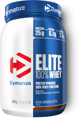 Dymatize Elite 100% Whey 907g Rich Chocolate