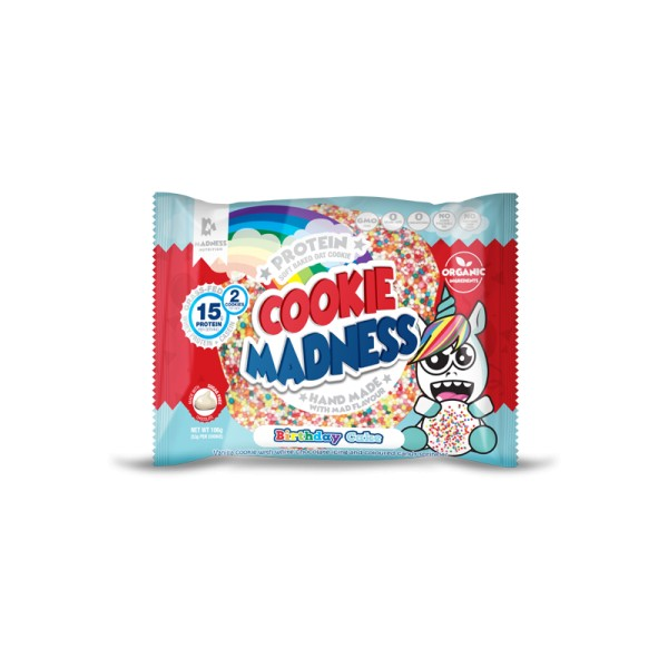 Madness Nutrition Cookie Madness 106g Birthday Cake