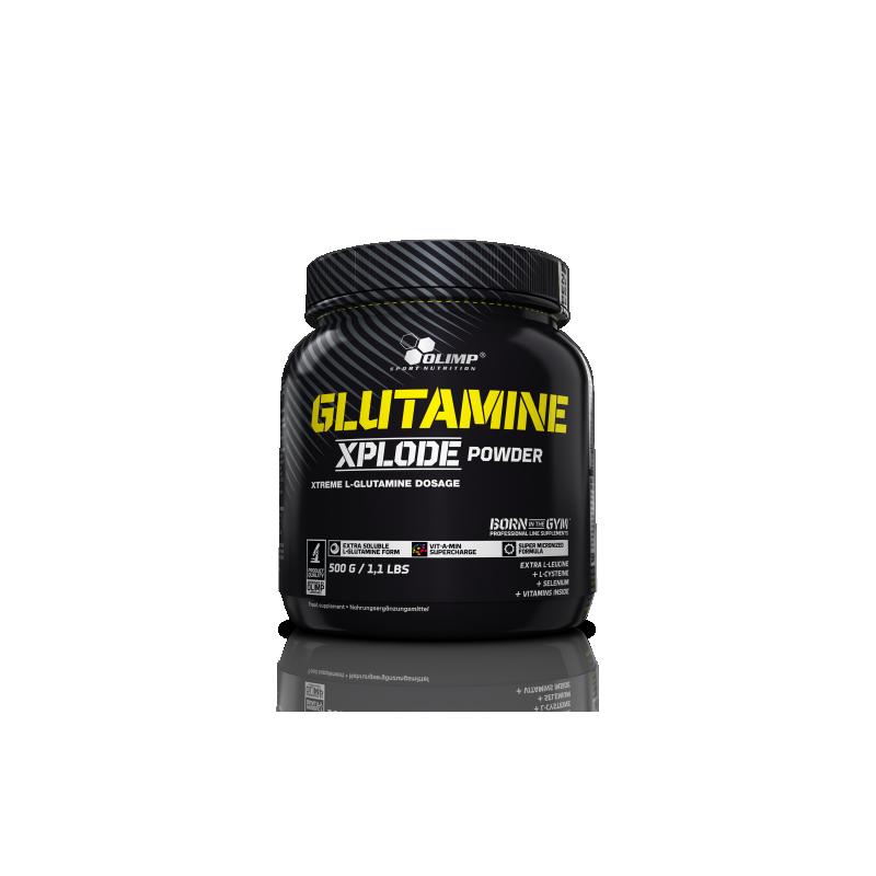 olimp glutamine xplode pulver 500g l glutamin aminos uren unser sortiment house of protein. Black Bedroom Furniture Sets. Home Design Ideas