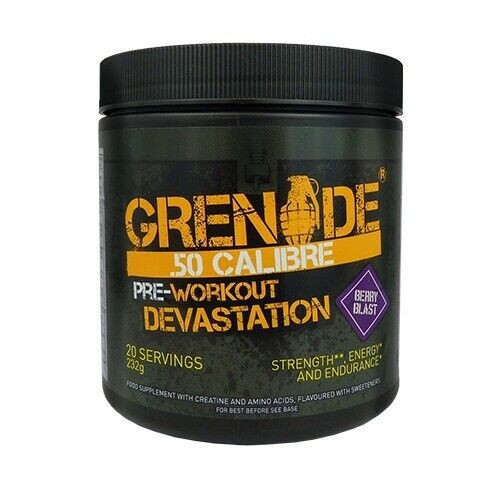 Grenade 50 Calibre Pre-Workout Devastation 232g
